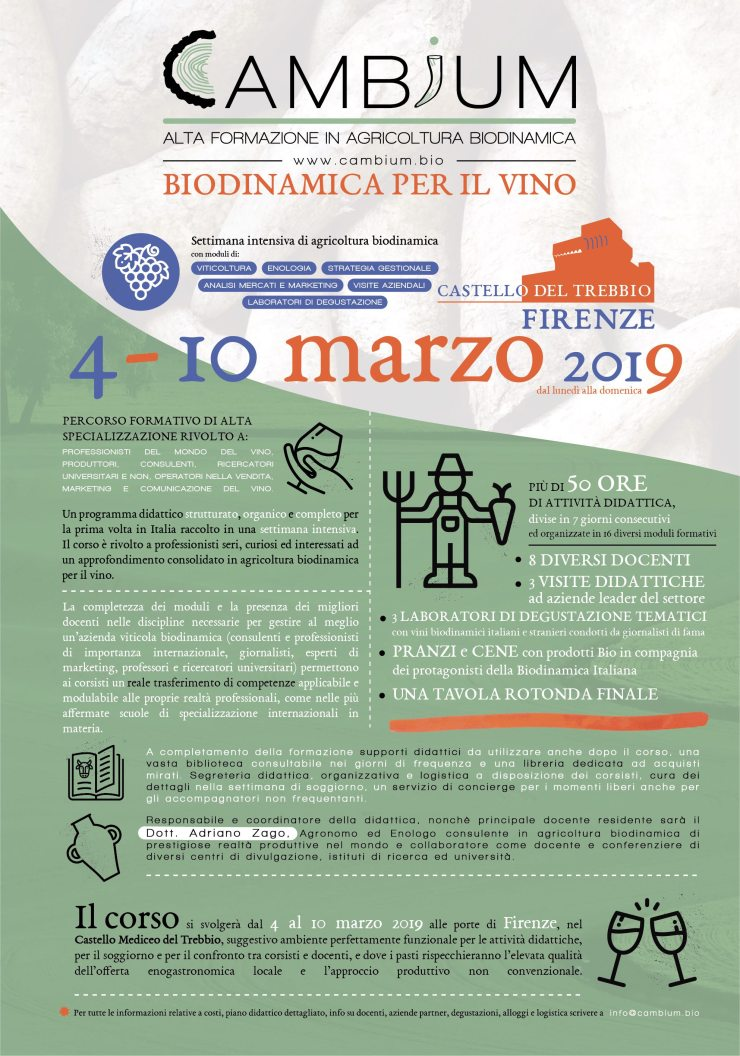 Cambium_Biodinamica per il vino
